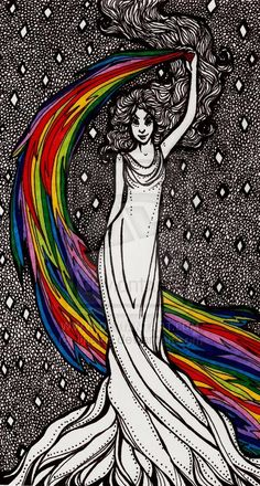 Iris-Greek Mythology by ~Ithelda on deviantART
