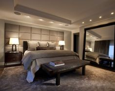 Éclairage chambre à coucher- idées sur le type de luminaire ...