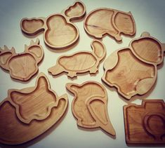 Small Woodworking Projects, Cnc Projects, Woodworking Crafts, Woodworking Mallet, Kids Plates, Wooden Plates, Carving Designs, Kids Wood, Wood Creations