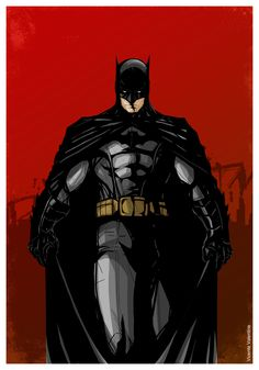 Batman by  Vicente Valentine
