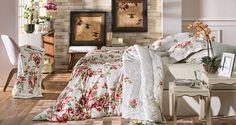 Jogo de cama, cobre-leito e edredom San-ives