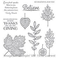 The Lighthearted Leaves Stamp Set (Photopolymer) is one of My Favorite Things from the Stampin' Up! 2015 Holiday Catalog.  For more details about this product and to shop, visit: http://www.stampinup.com/ECWeb/ProductDetails.aspx?productID=139712&dbwsdemoid=2026178