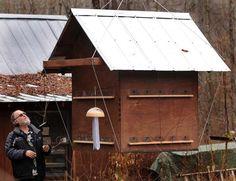 not a coop, but it is a 940 lb bird feeder!