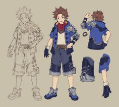 Morrow Concept from Final Fantasy Dimensions II
