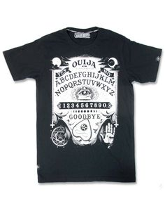 Liquor Brand Herren OUIJA II T-Shirts.Tattoo,Biker,Oldschool,Custom Style