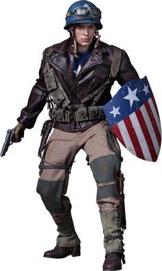 Captain America, Rescue Cap exclusive