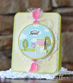 Pickled Paper Designs: Introducing Petite Places: Sweet Shoppe