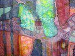 silk- detail from Silk Painting, Van, Color, Detail, Colour, Vans, Colors, Vans Outfit