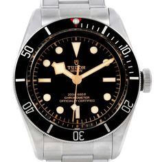 66dda2a00a1 21068 Tudor Heritage Black Bay Stainless Steel Mens Watch 79230N Box Papers  SwissWatchExpo Tudor Heritage Black