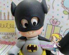 Topo personalizado Batman com vela
