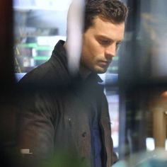 I'm so in love with this pic of Jamie shooting the grocery store scene in Fifty Shades Darker taken by @50shadesgirlportland he looks amazing!  #JamieDornan #ChristianGrey #FiftyshadesDarker