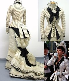 Anna Karenina Maurizio Millenotti: The Frock Flicks Guide 1800s Fashion, Edwardian Fashion, Vintage Fashion, Victorian Gown, Victorian Costume, Historical Costume, Historical Clothing, Vintage Gowns, Vintage Outfits