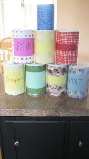 repurposing formula cans