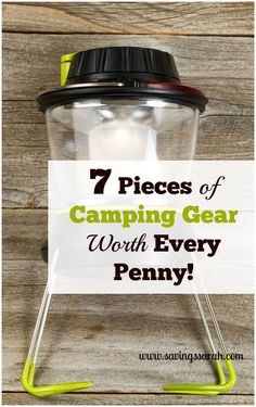 Camping Gear - What Outdoor Camping Gear and Equipment You Need for Your Camping Trip -- Click on the image for additional details. #CampingGear