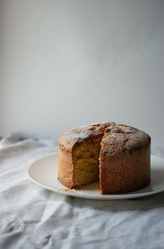 Old Fashioned Sponge Cake