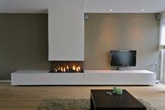 Living room lighting modern fireplaces ideas for 2019 Living Room Decor Fireplace, Ikea Living Room, Home Fireplace, Living Room Flooring, Fireplace Design, Living Room Lighting, Interior Design Living Room, Living Room Designs, Kitchen Interior