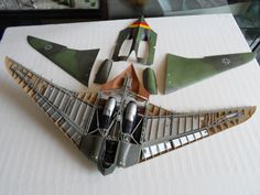 Horten Ho 229, Flying Wing, Aircraft Design, Rc Model, Model Airplanes, Luftwaffe, Spacecraft, Plastic Models, Military Aircraft