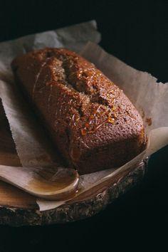 earl grey honey whiskey cake
