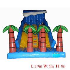 2017 Inflatable slides for children water park equipment pool  slide