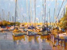 port  60x80 oil on canvas