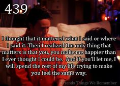 Friends Things We Remember... I just watched this episode!