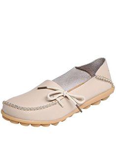 MatchLife Damen Vintage Leder Flach Pumpe Casual Schuhe - http://on-line-kaufen.de/matchlife/matchlife-damen-vintage-leder-flach-pumpe-casual