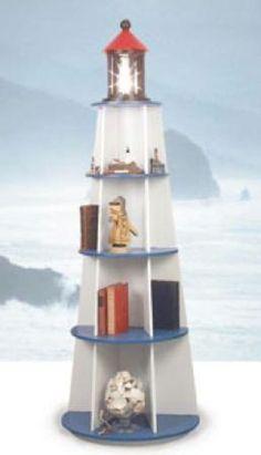 lighthouse shelf unit - Google Search