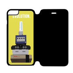 Nintendo Evolution iPhone 6 Flip Case Cover