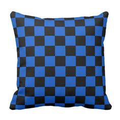 Black and blue - Italian football club - Inter Throw Pillow