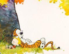 Love Calvin and Hobbes!