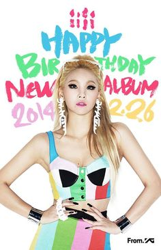Last year, crush was released on her birthday. BRING ON THE US DEBUT #HAPPYCLDAY