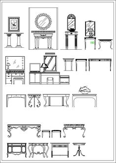 Furniture elevation ,Sofa elevation,Chair elevation,Cabinet elevation,Appliances Library,CAD Accessories,Plant Symbols,Landscape Design Blocks,Statues