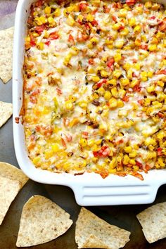 Cheesy Corn Dip | Community Post: 21 Insanely Easy Appetizers Guaranteed To Please Your Party Guests