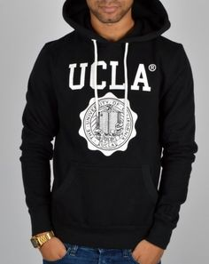 UCLA hoodie, classic black
