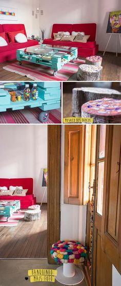 Uma casa linda e cheia de DIY                                                                                                                                                                                 Mais