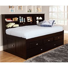 Shop for Twin 3-Drawer Daybed and Twin Trundle. Get free delivery at…