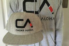 3D CA Logo Snapback Hat   Choke Aloha Jiu-Jitsu Company