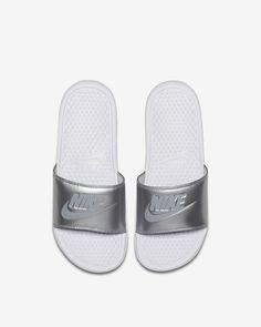 quality design 386fe 5347c Nike Benassi Slide size womens 11.5  Wishlist  Pinterest  Nike benassi,  Nike benassi slides and Nike