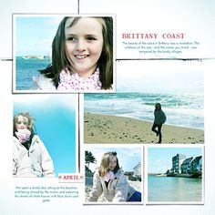 Brittany  (Used Fade out template, Lynn Grieveson, Designer Digitals)