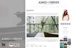 Always+Forever - Wordpress Theme by @Graphicsauthor