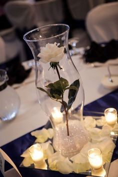 79+ Insanely Stunning Wedding Centerpiece Ideas - You can decorate your wedding tables in different ways. By using soft fabrics in any color you like to cover wedding tables, you can surely increase t... - - Get More at: http://www.pouted.com/79-insanely-stunning-wedding-centerpiece-ideas/
