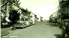 Eda kommun Charlottenberg Storgatan 1950-talet