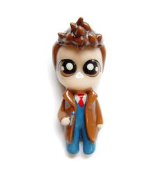 NEW  10th Dr. Who  Miniature Sculpture  by WonderlandContraband, $28.00