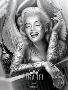 OGABEL.COM - Angelyn Poster, $9.95 (http://www.shopogabel.com/angelyn-poster/)
