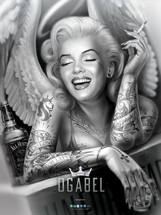 OGABEL.COM - Angelyn Poster, $9.95 (http://www.shopogabel.com/angelyn-poster/)