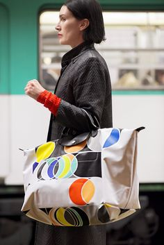 Discover Longchamp's newest artist collaboration with Sarah Morris