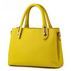 Cross Embossed Pu Shoulder Bag ($36) ❤ liked on Polyvore featuring bags, handbags, shoulder bags, embossed handbags, pu purse, yellow handbags, yellow shoulder bag and yellow purse