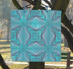 Light of Stars Mini Quilt paper piecing PP pdf by QuiltsMyWayShop