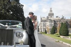 one of our couples who had their castle wedding at Adare Manor