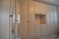 Amenajare completa apartament | Lignaprod Kitchen Cabinets, Decor, Kitchen, Home, Cabinet, Home Decor